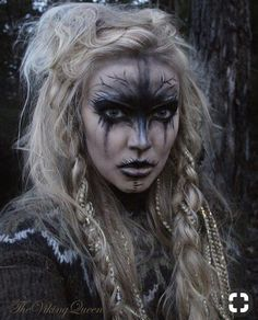 ideas for prom ideas for halloween witch makeup ideas halloween makeup ideas makeup ideas cute eyes makeup ideas makeup ideas makeup ideas for halloween Makeup Inspiration, Character Inspiration, Creative Inspiration, Vikings, Make Up Gesicht, Maquillaje Halloween, Special Effects Makeup, Costume Makeup, Makeup Art