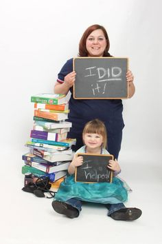 Nursing graduation pictures with little one