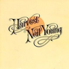 Some of my favourite ever typography - Harvest Moon. We found this CD in a rental car once a million years ago, such a score!