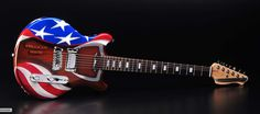 This custom-made Tennessee Electric Guitar is to be auctioned off at Classic Instruments 40th Anniversary Open House Car Show/ NSRA Appreciation day July 29th 2017.