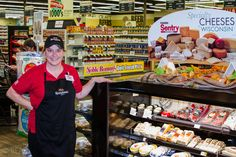 Meats, and Cheeses, and Deli delights, all served with a smile!  #ThatsTheSentryAceWay