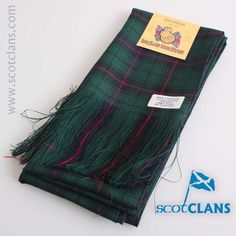 Davidson Modern Tartan Sash. Free worldwide shipping available