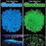 Amazon.com : Opps 100 Pcs Glow in the Dark Garden Pebbles for Walkways and Decor in Blue : Patio, Lawn & Garden