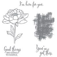 You've Got This Wood-Mount Stamp Set by Stampin' Up!