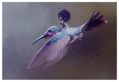 Fairy Flight by Jean-Baptiste Monge: Serenity, Rose Quartz