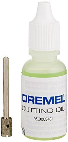 Dremel 663DR 1/4-Inch Glass Drilling Bit with Cutting Oil Dremel