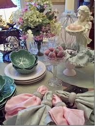 Lovely Spring tablescape.