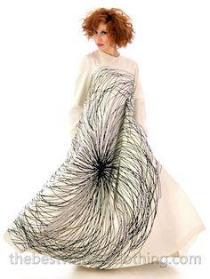 My favourite 70s Maxi Dress: Vuokko Nurmesniemi A-Line B  #WinBestVintage Competition  http://www.catspajamas.com/_BVCwordpress/2014/05/01/pin-to-win-this-vintage-kelly-handbag/#comment-195