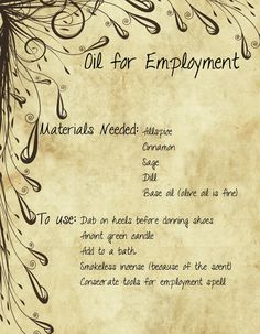 Oil For Employment by minimissmelissa.deviantart.com on @deviantART