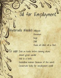 Oil For Employment by minimissmelissa.deviantart.com on @deviantART