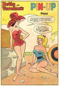 Betty & Veronica's Pin Up Page
