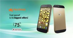 #Treat yourself to the #Biggest Offers Get 75% off on #Micromax #Smartphones Shop Now! #TogoFogo