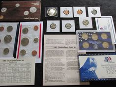 #coins Large OLD PDS Coins Lot MINT+Proof SET,1943 WHEAT NO Junk No Reserve , #155 please retweet