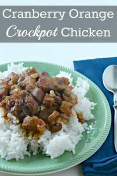 This Cranberry Orange chicken crockpot recipe is so simple and will be a favorite of your whole family! I used chicken due to it being local! love when food is local to my family! Slow Cooker Recipes, Crockpot Recipes, Cooking Recipes, Meal Recipes, Turkey Recipes, Cooking Tips, Frugal Meals, Easy Meals, Budget Meals