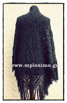 the pineapple crochet shawl