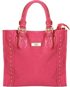 BESSIE Rose Large Studded Shopper Bag - In Love With Fashion