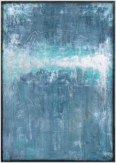 ANTJE HETTNER* Bild ORIGINAL Kunst GEMÄLDE Leinwand MALEREI abstrakt XXL Acryl
