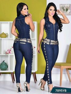Jumpsuit yes brazil ref Hot Outfits, Fashion Outfits, Womens Fashion, Jeans Overall, Mode Jeans, Grunge Look, Sexy Jeans, Girls Jeans, Look Fashion