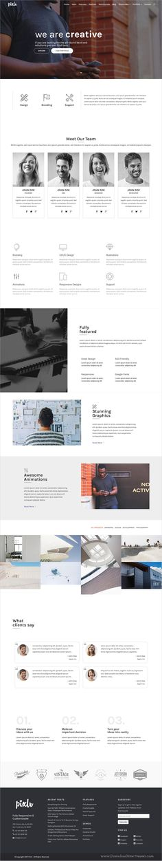 Pixlr is a creative and modern responsive #WordPress theme for #corporate #office stunning website with 16 multipurpose niche homepage layouts download now➩ https://themeforest.net/item/pixlr-premium-one-page-multipurpose-wordpress-theme/19335699?ref=Datasata
