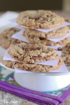 Brown Butter Chocolate Chunk S'mores Cookie Recipe - Picky Palate