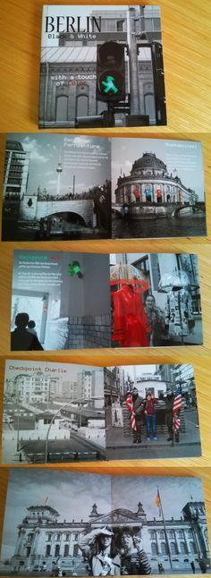 Städtereise Fotobuch Berlin  Mit Color Key Effekt. Noch mehr Fotobuch Beispiele findet Ihr auf meiner Seite www.fotobuchtipps.de