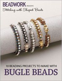 Stitching with Shaped Beads: 10 Beaded Projects to Make with Bugle Beads