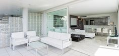 CORSE APARTMENT  Enjoy the elegant decoration and luxurious views of the bay of Ibiza from this spectacular 150 m2 3-bedroom apartment. #ibizaluxury #ilx #ibiza