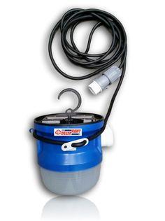 LED Bucket 1.0 42V  kabellengte: 5 meter gewicht: 0.7 Kg afmetingen: hoogte 190mm diameter 200mm beschermingsgraad: IP54