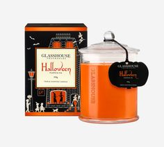 2016 Limited Edition Halloween Pumpkin Pie 350g Candle by Glasshouse Fragrances