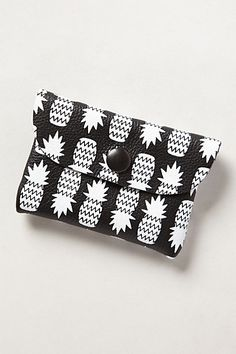 """Pineapple Cardholder at Anthropologie """"Trend Report - Pineapple Express"""" July 10/2014 #pineapple #Fashion"""