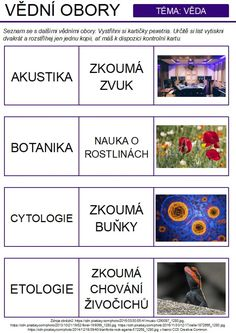 Produkt - Odborné texty pro děti II. School, Chemistry, Biology