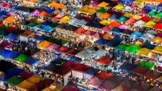 Rainbow colored market stalls in Bangkok 2017 National Geographic Travel Photographer of the Year National Geographic Expeditions, National Geographic Travel, Travel 2017, Bangkok Hotel, Photo Competition, Nocturne, Travel Photographer, Thailand Travel, Photo Contest