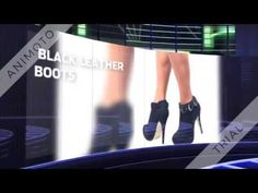 BLACK LEATHER BOOTS 480p