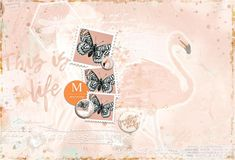 THIS IS LIFE A Perfect Day, Early Bird, Digital Scrapbooking, Giraffe, Layouts, Digital Art, Birds, Creative, Collection