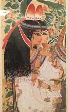 Egyptian Wall Painting Metropolitan Museum of Art