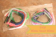 What can you make with pipe cleaners? (for long car trips)