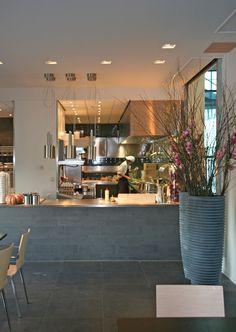 Grand Cafe, Inrichting, Interieur, Architectuur, UMCG.