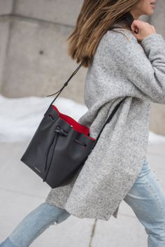 29 Bucket Bag Outfit Ideas That Every Girl Must Try ec4185679