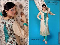 Ghani Textile Summer Dresses 2013 For Women 007