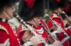 Clarinet Players with the Regimental Bands of the Household Divison by Defence Images, via Flickr