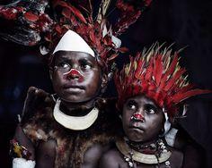 Civilisations primitives en voie de disparitions - Photos de Jimmy Nelson - La Tribu Goroka, Papouasie-Nouvelle Guinée