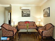 For rent: apartments 3 BEDROOM SERVICE APARTMENTS IN CONNAUGHT PLACE fully air-conditioned 3 BHK (Bedroom, Hall and Kitchen) serviced apartments with attached modern bathrooms ...