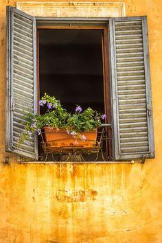 Window in Rome: