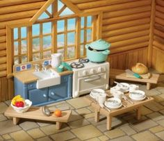 4637 Rustic Cabin Kitchen BK