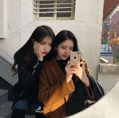 mon and Sunwoo Ulzzang Girl Selca, Ulzzang Korean Girl, Ulzzang Couple, Korean Couple, Friends Korean, Foto Best Friend, Bff Girls, Girl Friendship, Uzzlang Girl