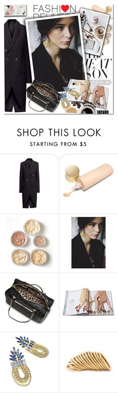 """""""Style Statement Earrings"""" by vanjazivadinovic ❤ liked on Polyvore featuring Eve Lom, Mossimo, Shaun Leane, GUESS, Yves Saint Laurent, StatementEarrings, polyvoreeditorial and zaful"""