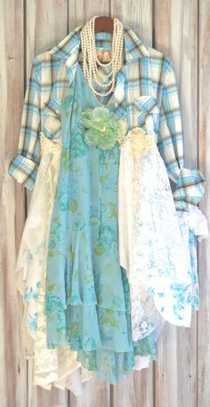 Fall Jacket Romantic country chic dress or by TrueRebelClothing