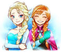 Frozen Smiles Wallpaper