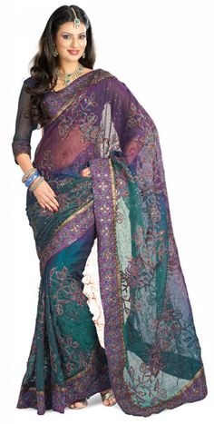 I could look at saris for hours, such pretty colors..