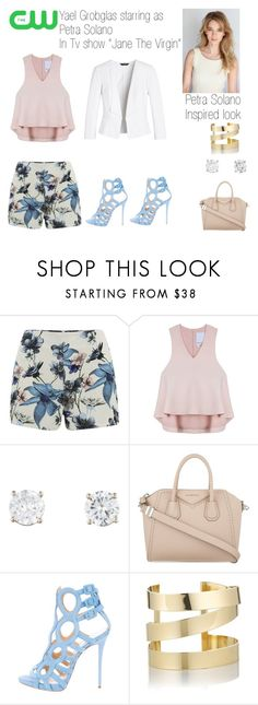 """""""Petra Solano Inspired look #janethevirgin"""" by julie236 on Polyvore featuring ONLY, Cameo, Givenchy, Giuseppe Zanotti, Étoile Isabel Marant, White House Black Market, stylish, petra and janethevirgin"""